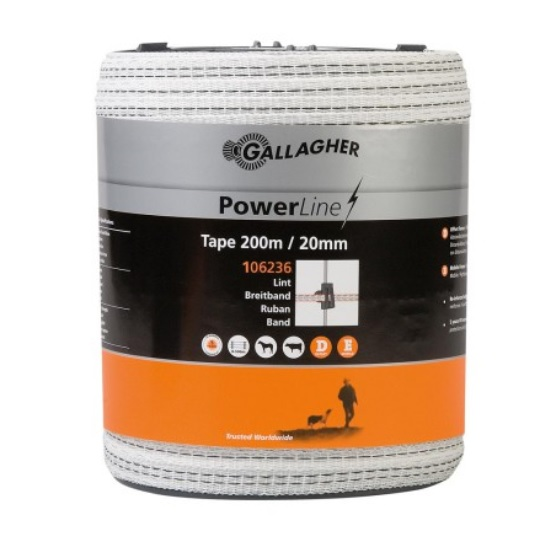 GALLAGHER POWERLINE LINT 20MM
